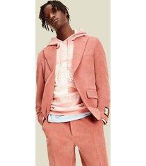 tommy hilfiger men's corduroy blazer pink - 38