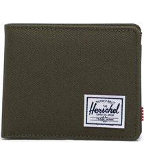herschel supply co. roy rfid wallet, size none in ivy green at nordstrom