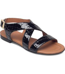 sandals 2901 shoes summer shoes flat sandals svart billi bi