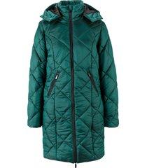 cappotto metallizzato trapuntato (verde) - bpc bonprix collection