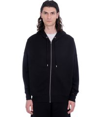 heron preston sweatshirt in black cotton