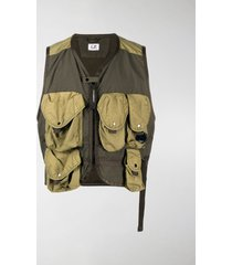 c.p. company cargo-pocket vest