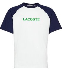 men s tee-shirt t-shirts short-sleeved multi/mönstrad lacoste live