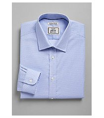 1905 collection extreme slim fit spread collar diamond dot dress shirt - big & tall, by jos. a. bank