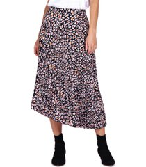 sanctuary the pleated midi skirt