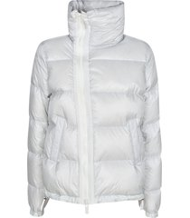 sacai high-neck zip padded jacket