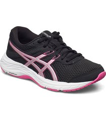 gel-contend 6 shoes sport shoes running shoes svart asics
