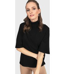 sweater privilege negro - calce oversize