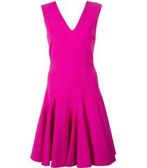 josie natori knit swing dress - pink