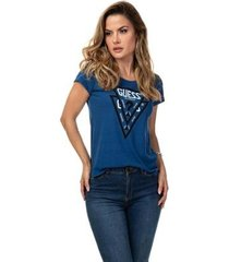t-shirt originals guess feminino - feminino