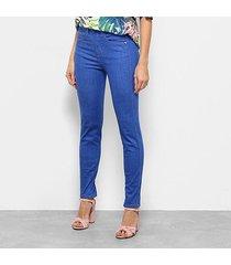 calça jeans skinny triton special cintura média feminina