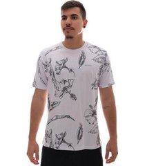 camiseta fatal flower masculina - masculino