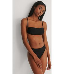 marije zuurveld x na-kd recycled bikiniunderdel med hög midja - black
