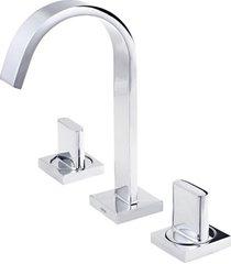 misturador para lavatório de mesa bica alta polo cromado