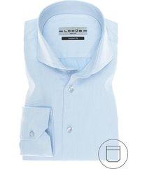 ledub modern fit overhemd lichtblauw two ply