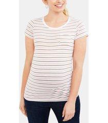 motherhood maternity pocket t-shirt