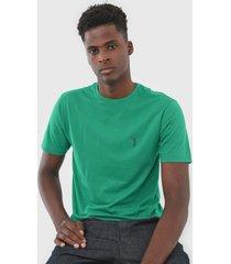 camiseta aleatory logo verde - verde - masculino - dafiti