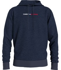 tommy hilfiger dm0dm10190 straight hoodie dmn twilight navy jeans