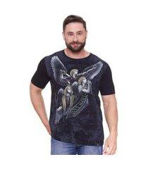 camiseta três arcanjos dv4655 ágape masculina