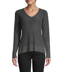 pigment print cashmere sweater