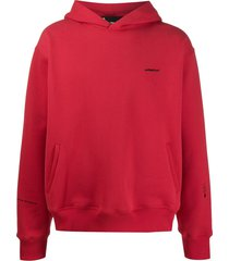 styland not rain proof hoodie - red