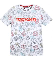 polera mc vintage sings blanco monopoly