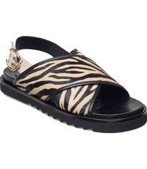 sandals 2750 shoes summer shoes flat sandals svart billi bi