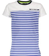 bellaire kobaltblauw met wit t-shirt kelton