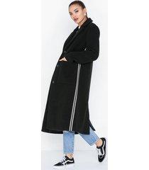 pieces pchelyn stripe coat kappor