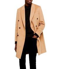 men's topman frazer double breasted coat