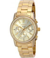 reloj dorado invicta 17020 - superbrands