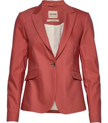 blake night blazer sustainable blazer kavaj röd mos mosh