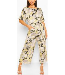 floral jumpsuit, multi