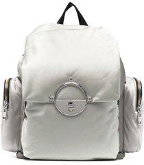 diesel drawstring-fastening backpack - grey