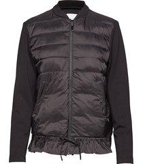jacket in scuba w. quiltet down fro gevoerd jack blauw coster copenhagen