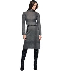 pierre robert x jenny skavlan wool a-line dress