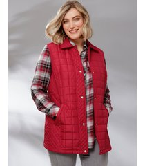 bodywarmer m. collection rood
