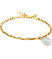 doina pearl and bracelet set