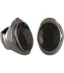 anel armazem rr bijoux oval pedra