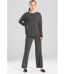 n-lightened top, women's, grey, size s, n natori