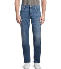 hudson men's byron slim straight jeans - blue - size 30