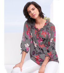 blouse met 3/4-mouwen van betty barclay multicolour