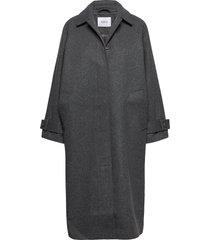 encampden jacket 6649 wollen jas lange jas grijs envii