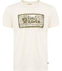 fjällräven eggshell logo stamp t-shirt f81949