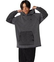 converse sudadera con capucha fashion jersey black