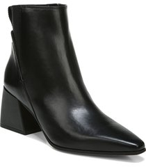 women's sarto by franco sarto brynn bootie, size 7.5 m - black
