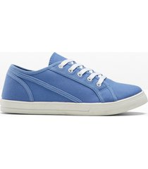 sneaker sostenibili in cotone (blu) - bpc bonprix collection