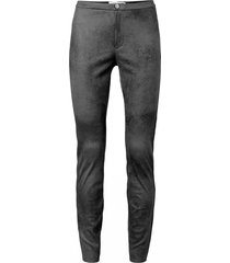 leather look legging zwart - yaya