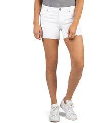women's kut from the kloth andrea release hem denim cutoff shorts