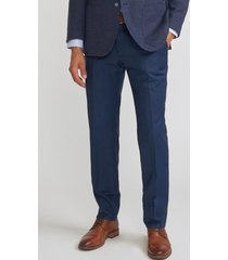 pantalón casual azul trial